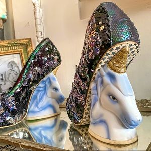 *RARE* Unicorn Eternal Friends Heels glitter stars